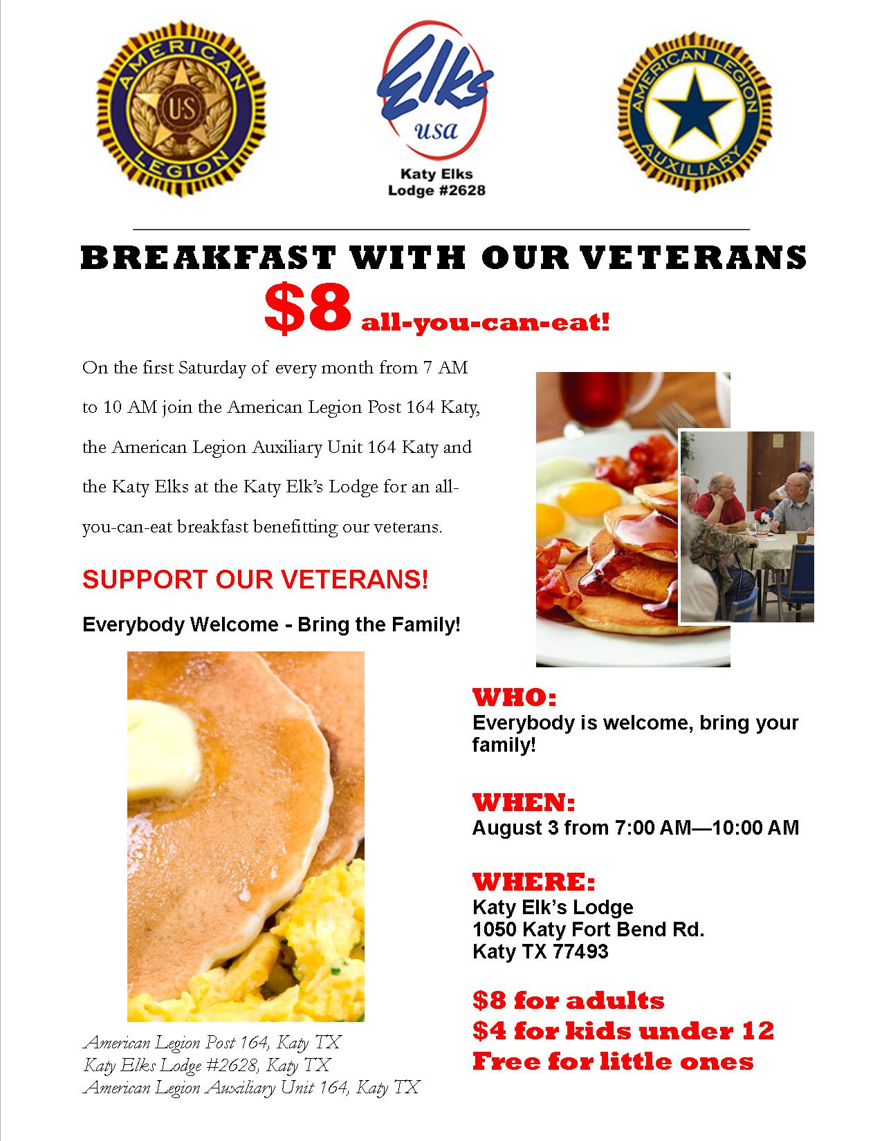 Breakfast with our Veterans